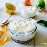 Zesty No-bake Lemon Cheesecakes
