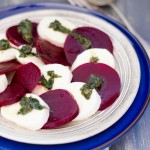 Beetroot and Basil Pesto Insalata Caprese