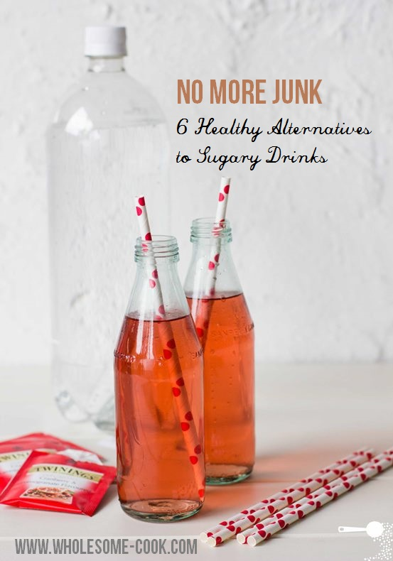 Healthy alternatives to sugary drinks