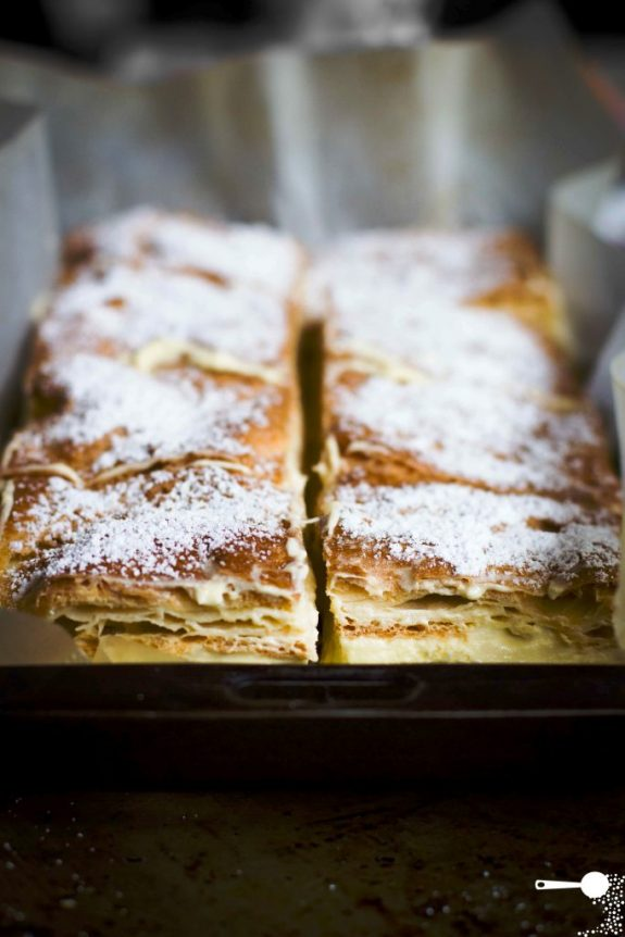 Karpatka custard slice Polish recipe