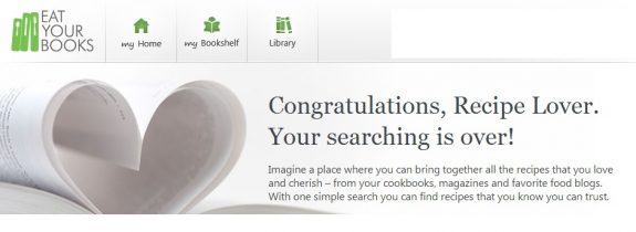 (CLOSED) Giveaway: Eat Your Books Lifetime Membership and My New Cookbook News