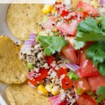 quinoa nachos with pico de gallo recipe (1)