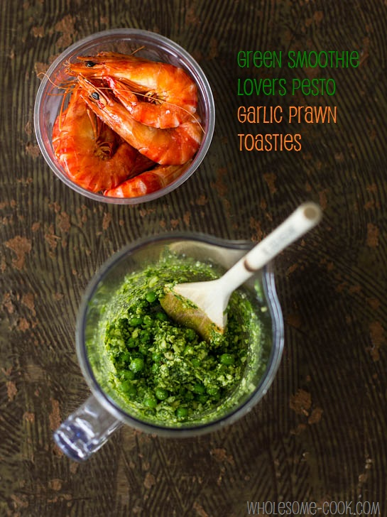 Green Smoothie Lovers Pesto