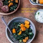 Silverbeet and Pumpkin Hash