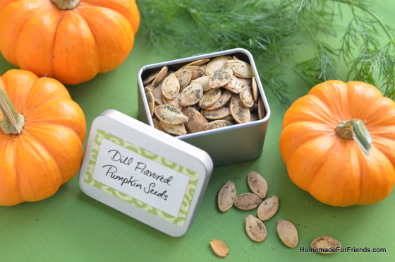 Dill Pumpkin Seeds | Homemade For Friends