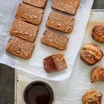Homemade Snickers Bar and Cookies