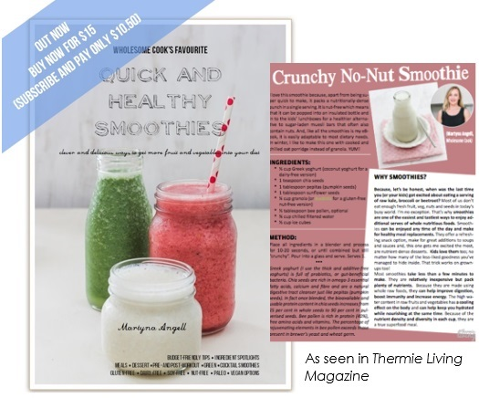 Smoothie eBook Thermie Living Feature