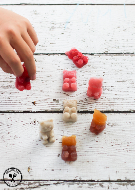 Homemade Healthy Gummy Bears No Added Sugar