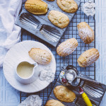 Gluten-free Lemon and Macadamia Madelines