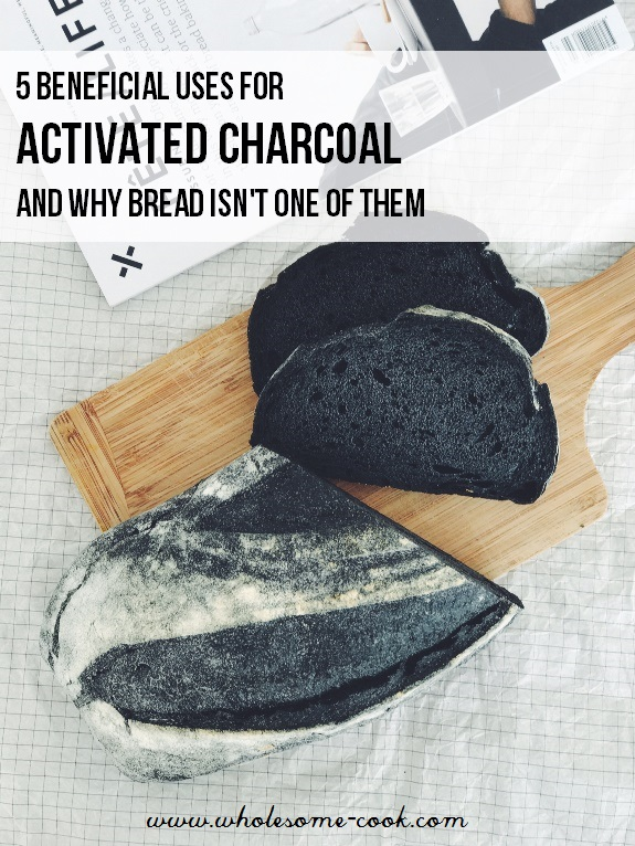 Activated charcoal bread benefits