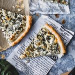 Goat's Cheese Quiche with Silverbeet Recipe