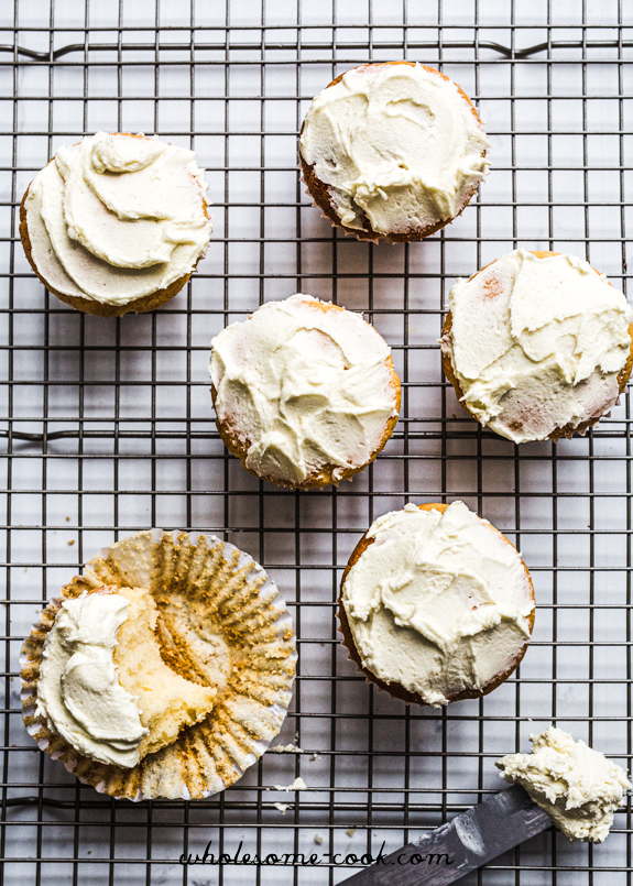 Nigella Lawson Cupcake Recipe with Cream Cheese Frosting