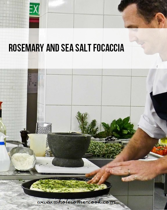 Rosemary and Sea Salt Focaccia Recipe